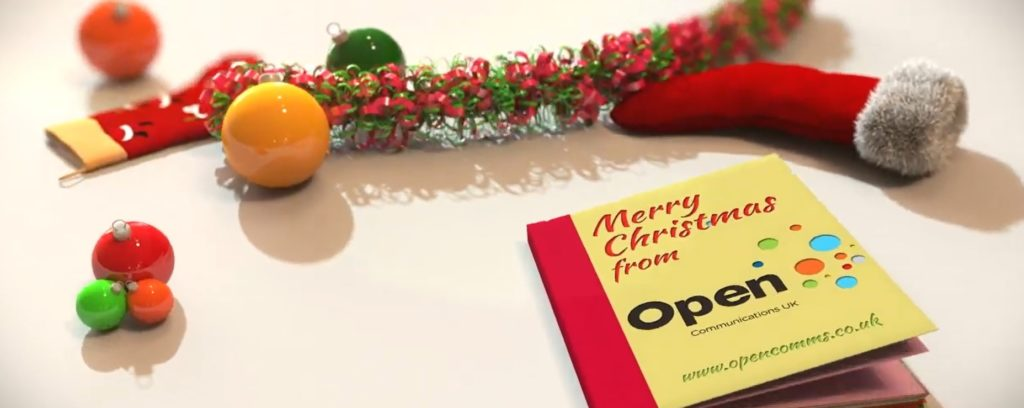 Christmas with Open Comms